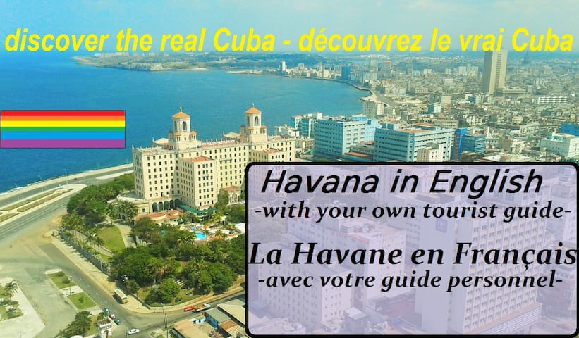 Havana with your own tourist guide at Fefa's casa - La Habana - House
