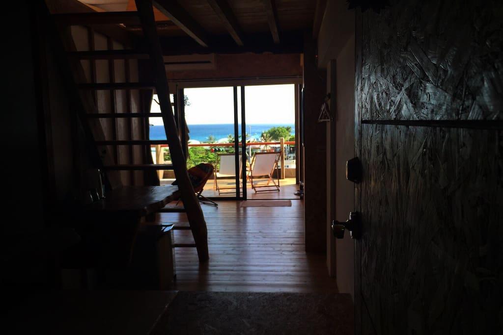 進門即可見的美麗海景