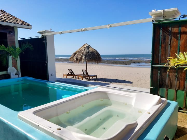 Pochomil Beach House Private Casita #1 - Sleeps 4