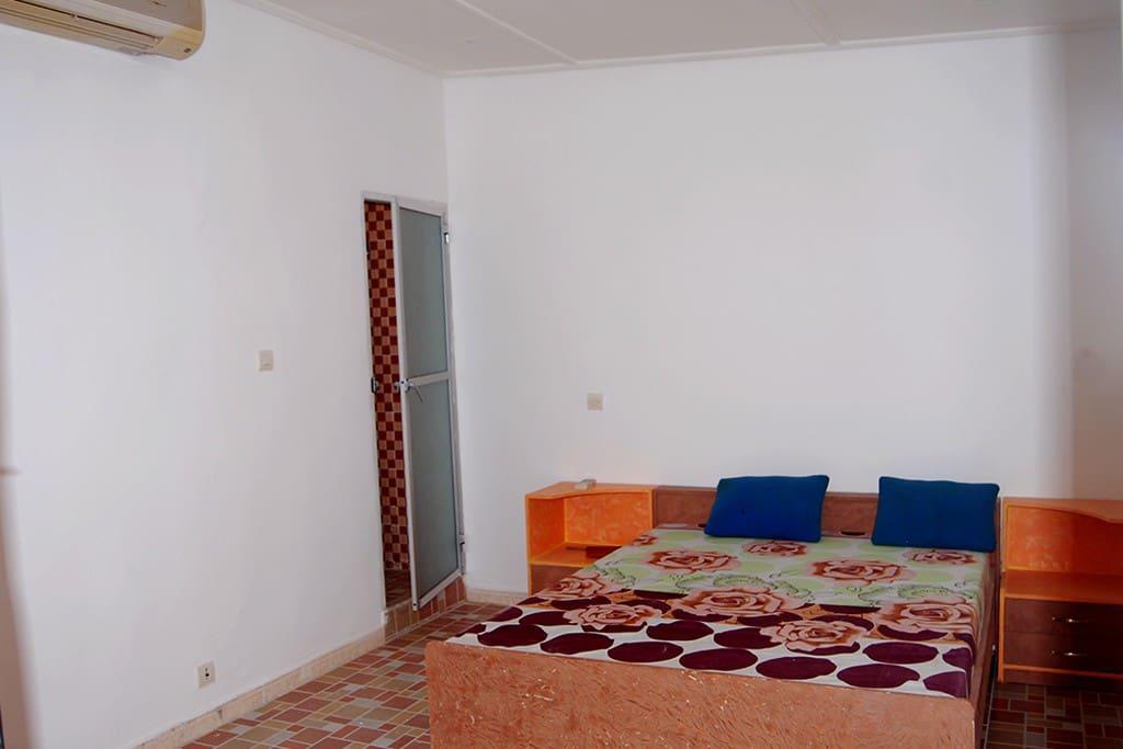 Vue chambre de la residence