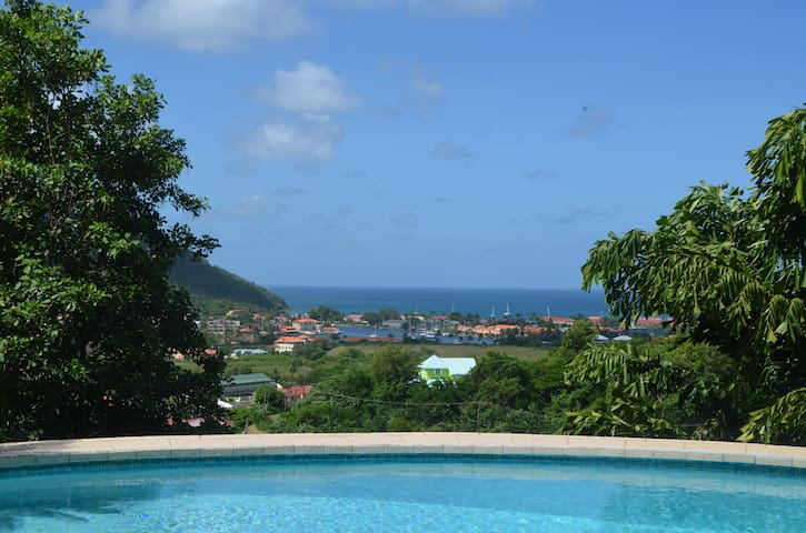 Beautiful Caribbean seaviews, 5 minutes from beach - Castries - Haus