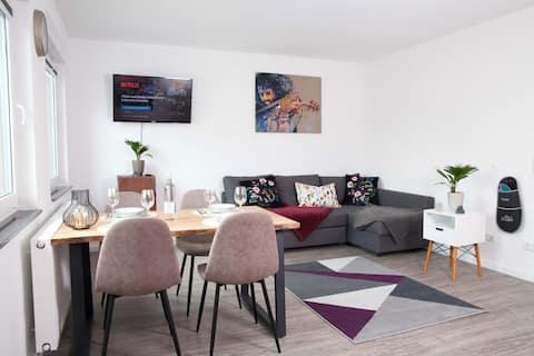 Cozy 2Room apartment, Netflix/WiFi, Hockenheimring
