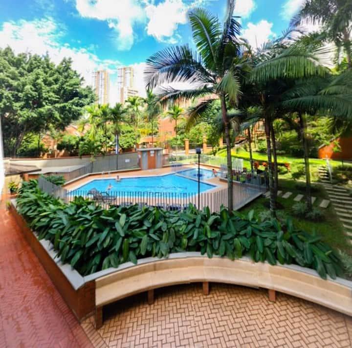 Medellin spring forever,ideal for holidays .