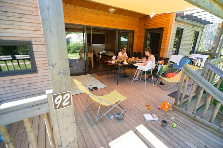 CosyCamp Cottages for 6/8 persons - Chamalières-sur-Loire - Natur lodge