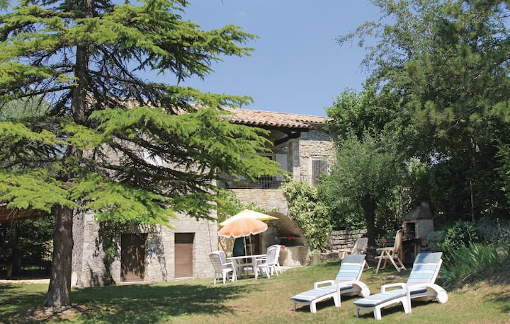 Beautiful home in Montguers with 3 Bedrooms