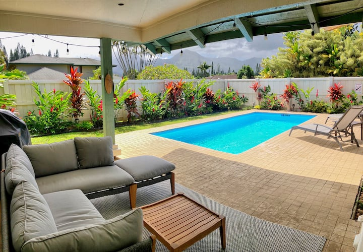 NEW! PRIVATE POOL, Powerful A/C+Waterfall Views!