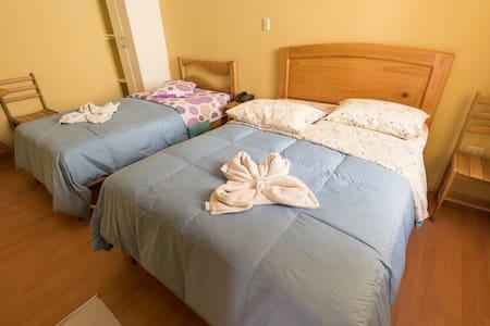 Habitaciones  céntricas económicas - Trujillo