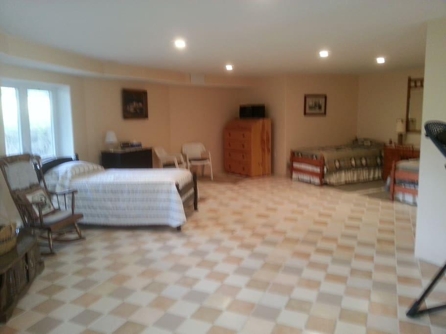 Lower Level dormitory area