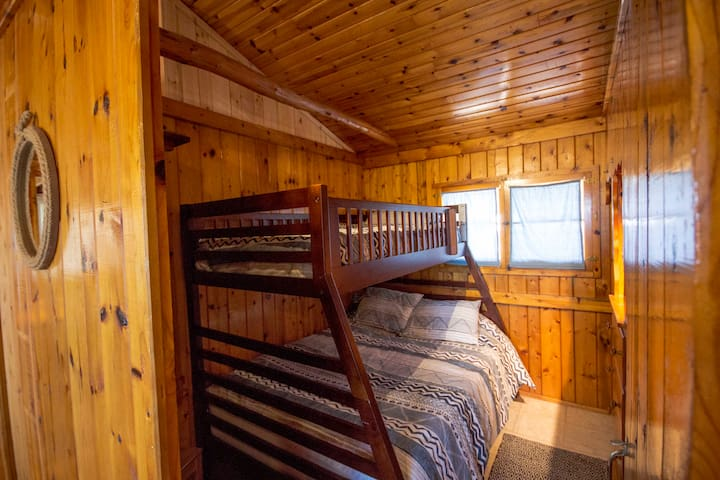 Bunk Bed with Double and Single. Closet and Dresser