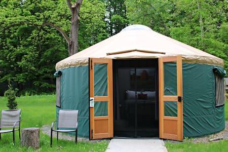 Plum Point Lodge- Glamping Yurt 5
