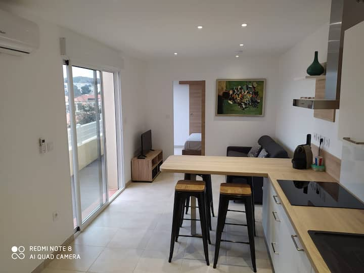 Appartment in the heart of Port Vendres