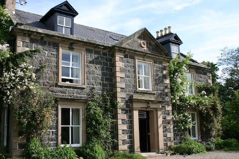 Kirkton House - 200-letni szkocki dworek