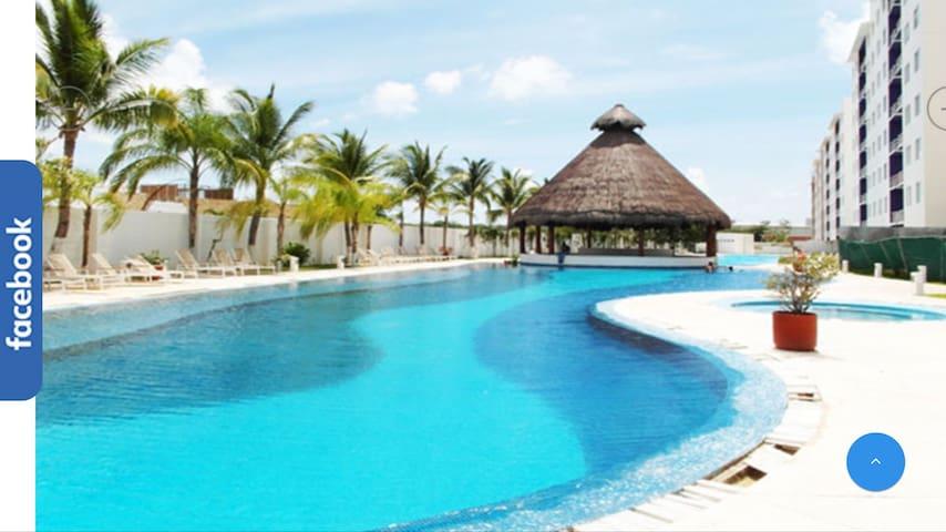Habitación Habitalia Paraiso cancun - Cancun - Apartemen