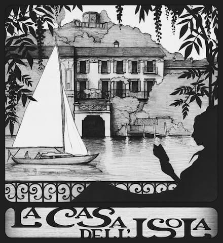 La Casa dell'Isola Logo