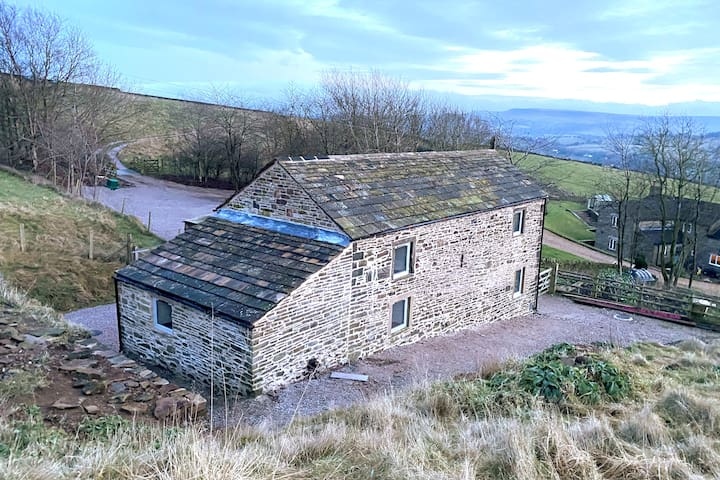 Beautifully restored barn in the Peak District