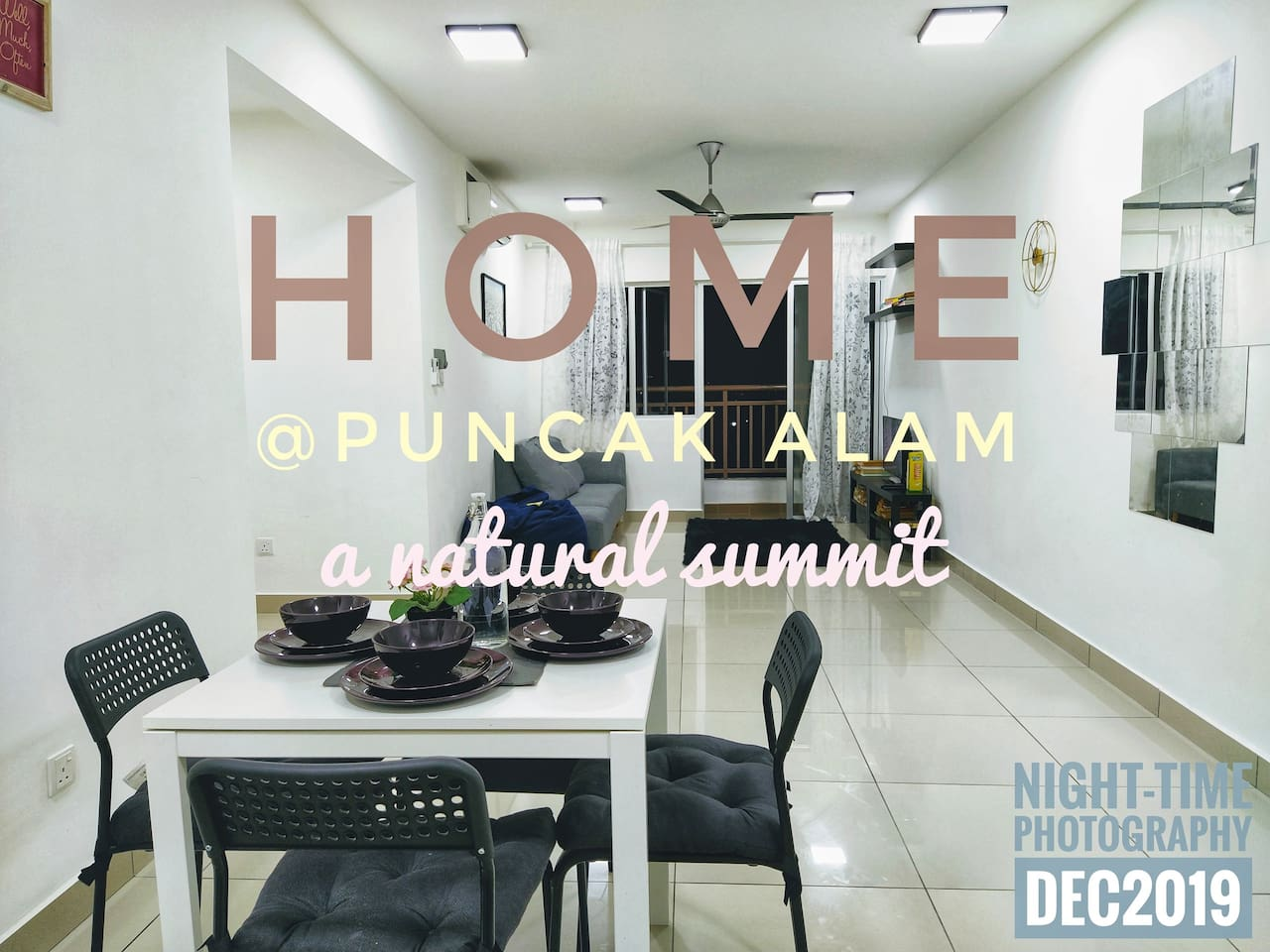 Welcome to Sentrovue Puncak Alam.   Photo as of Dec 2019, nightime photoshoot.
