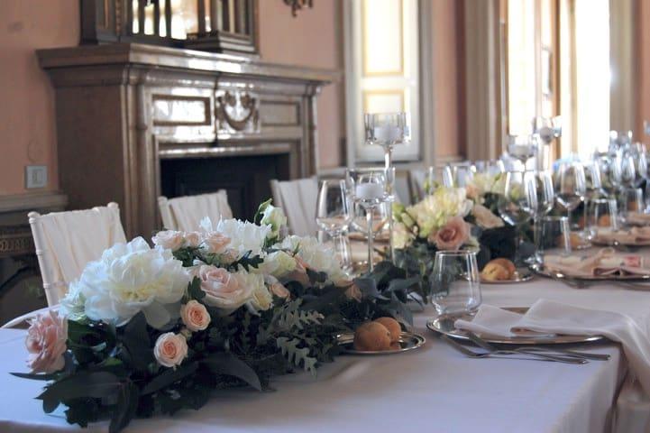 Matrimonio in Villa Le due Torrette