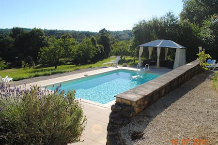 Charming Farmhouse with pool - Campagnac les Quercy