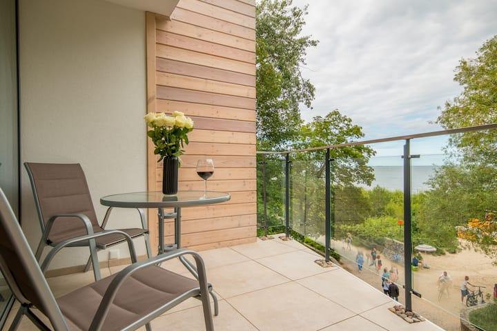 Tawerna Rybaki Pokój z balkonem,widokiem na morze