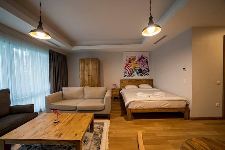 Quality furnished studio, 24/7 security,Maslak1453
