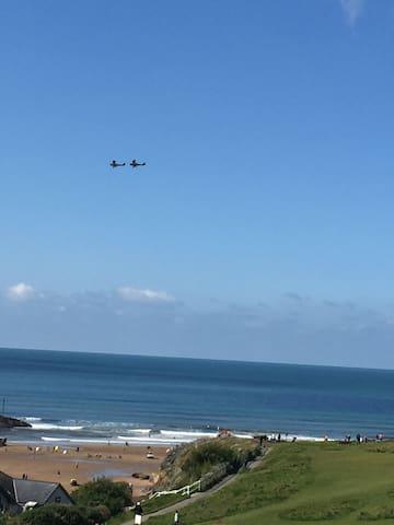 Uninterrupted sea views, 3 bed  Bude , Cornwall