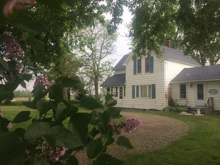 Blue Rose Farm, Restful Retreat in West Michigan.