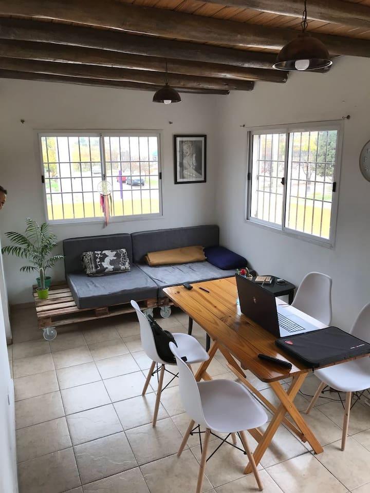 estar y comedor / living room