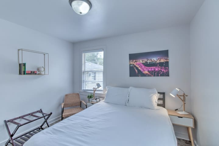 Walk to your Own Gated Retreat from Midtown's Best
