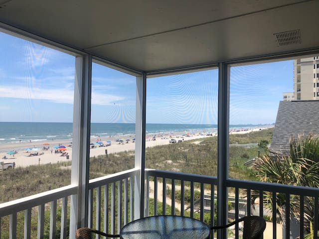 NORTH MYRTLE BEACH DIRECT OCEANFRONT PRIVATE CONDO