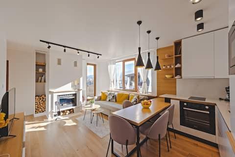 Современные роскошные апартаменты в 5 минутах от подъемника