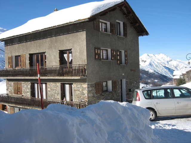 Amazing apt - 600 m from the slopes