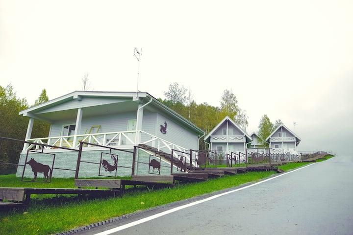 """Большой дом люкс в Парк-отеле """"Медвежья Гора"""""""