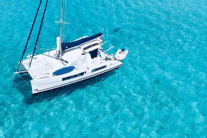 Le meilleur des lagons de Polynésie à la voile