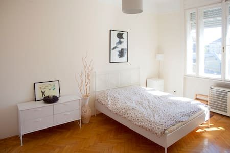 Spacious bright apt in downtown - Budapeste