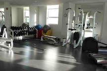 Gym on second floor