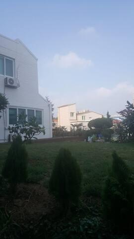 당동 하얀집 ,마요정원