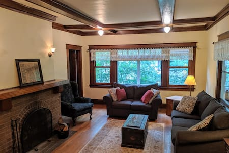 Historic and family-friendly home next to St. Olaf