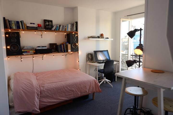 Appartement très lumineux, proche du Père Lachaise
