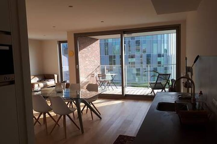 Modern apartment close to Flanders Expo