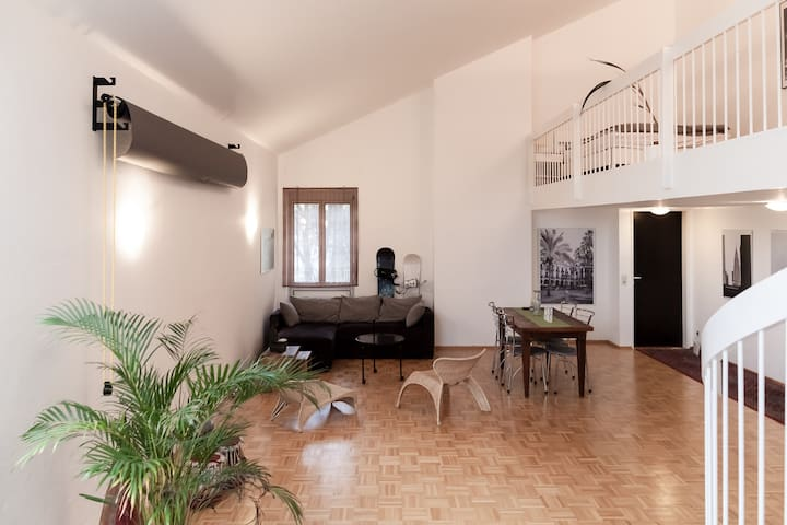 Spacious Loft/ Photo Studio near Englischer Garten - Múnich - Loft