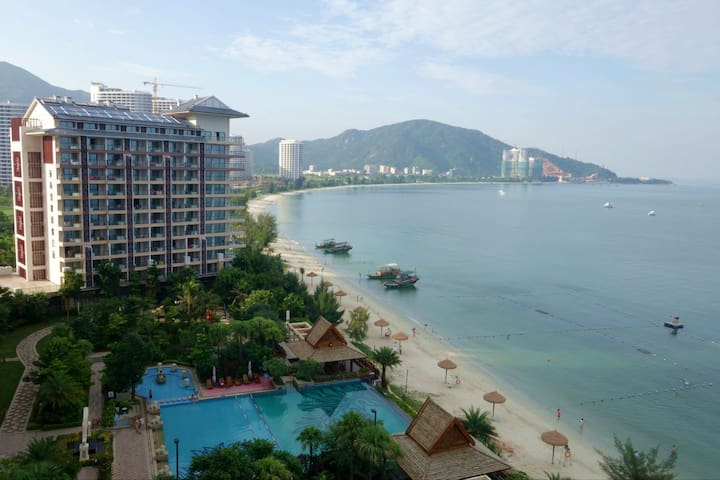 阳台大浴缸海景双床房 - Huizhou - Lägenhet