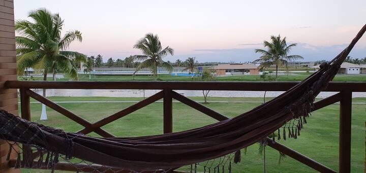 Apto no Condomínio Villa das Águas - Praia do Saco