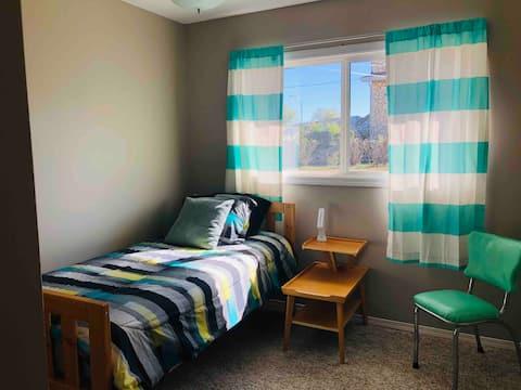 Comfortable 3 bedroom on main floor.