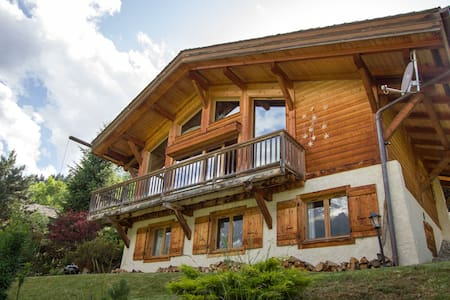 Mountain chalet with incredible view L'ile de Lars