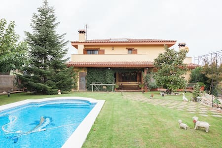 Casa familiar con piscina privada - Caldes de Malavella