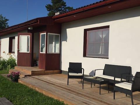 Aruvälja countryhouse and sauna