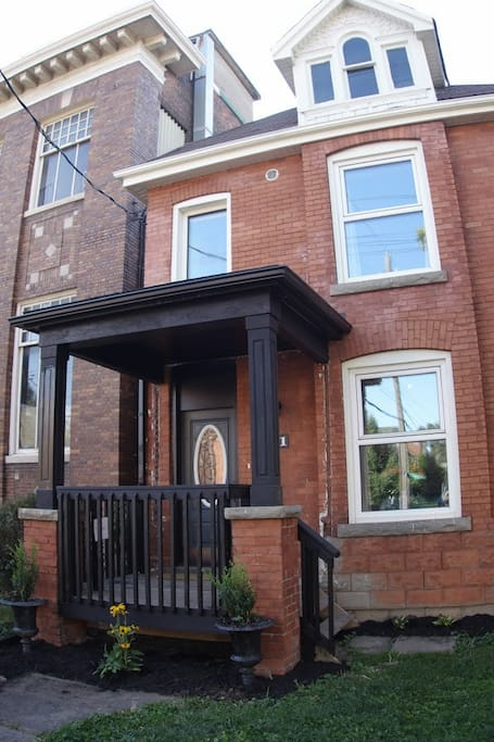Suite is on first floor of this beautiful Edwardian home in Strathcona neighbourhood.