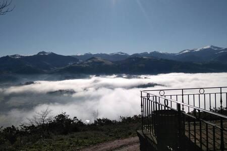 Mirador del valle de  baztan