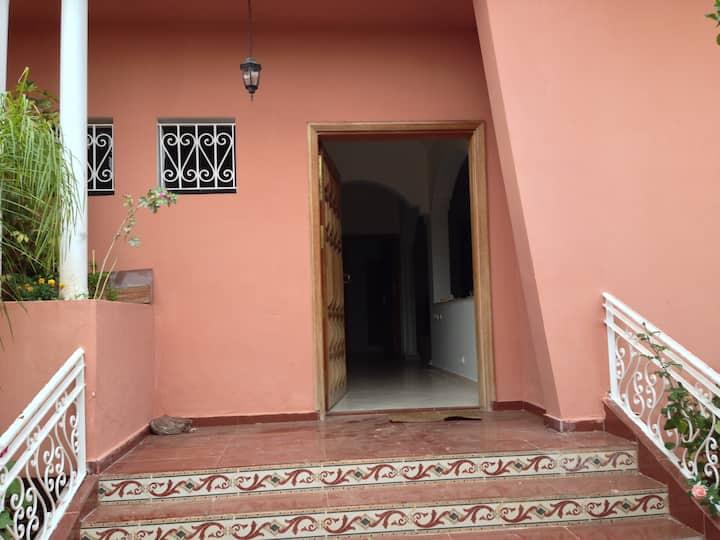 villa A BOUSKOURA