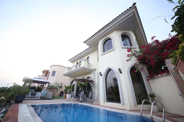 Amazing villa! Burj Al Arab View | Palm Jumeirah